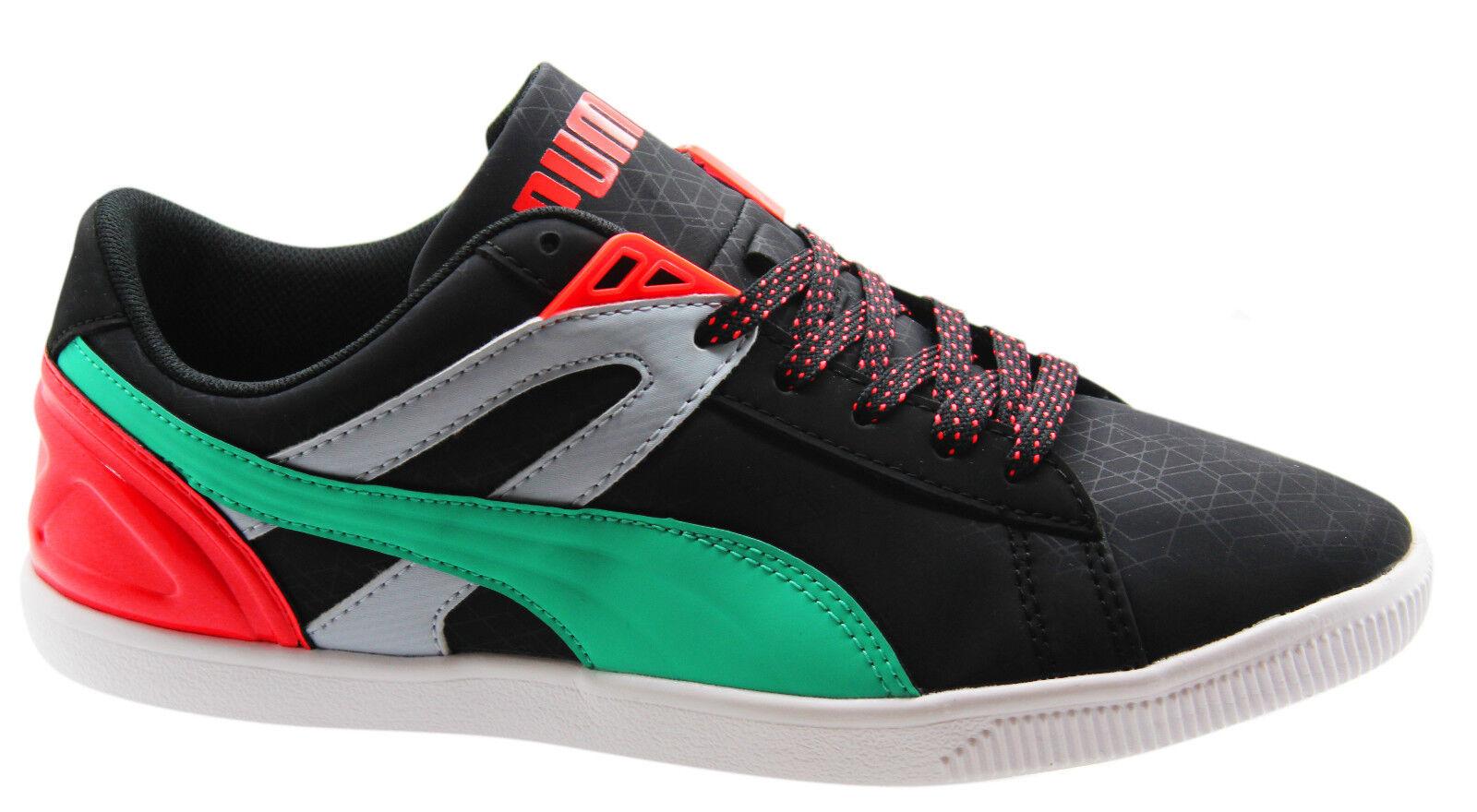 Puma future glyde lite lo femme trainers low top lacets unisexe 355615 01 wh