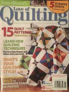 Fons-amp-Porter-039-s-LOVE-OF-QUILTING-Jan-Feb-13-15-Quilt-Patterns-5-Scrappy-Quilts