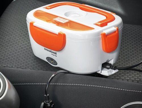 Voiture thermobox Boîtier plat Lunch Box électriques manger plus chaud dorés cartables