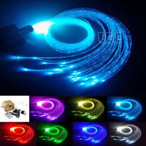Image Is Loading DIY 16W RGBW Twinkle Fiber Optic Flash Point