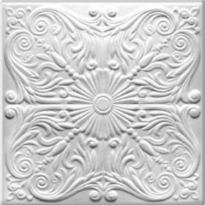 Details About Ceiling Tile Decorative Styrofoam Easy Diy Install Covers Popcorn Ceiling R 76