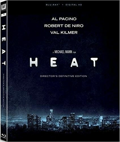 Heat (1995 Al Pacino Robert De Niro) (2 Disc, Definitive Edition) BLU-RAY NEW