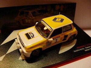 RES5M-1-43-IXO-altaya-Rallye-Champions-Espagne-renault-5-turbo-ORTIZ-1983