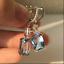 4-20Ct-Emerald-Cut-Aquamarine-Drop-amp-Dangle-Earrings-Solid-14K-White-Gold-Finish thumbnail 1