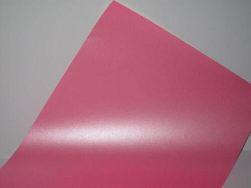100 X Kräftiges Pink Perlglanz Schimmernd Papier A4 90gsm 1-Sided Karten Basteln