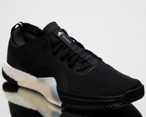 3122983940b adidas CrazyTrain Elite Men New Black Carbon White Training Sneakers ...