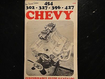 BALDWIN-MOTION CHEVY PERFORMANCE GUIDE & CATALOG