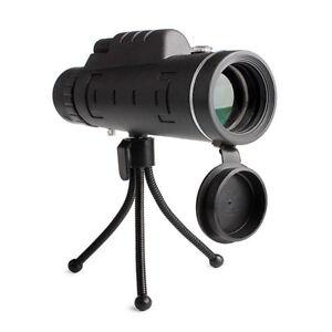 40X60-Focus-Zoom-Outdoor-Waterproof-Handheld-Monocular-Telescope-Tripod-Clip-US