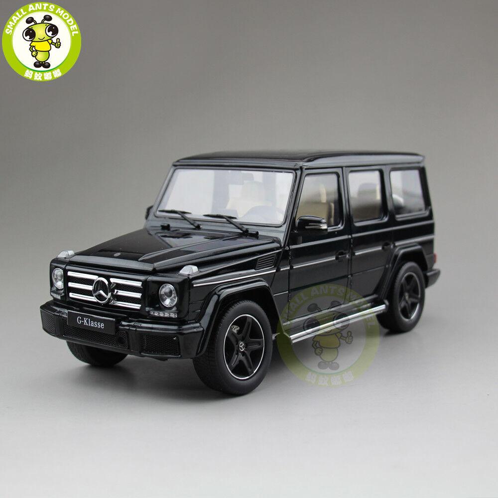 1 18 iScale BENZ G CLASS 500 véhicule utilitaire sport Diecast voiture véhicule utilitaire sport modèle Jouets eau Vert foncé