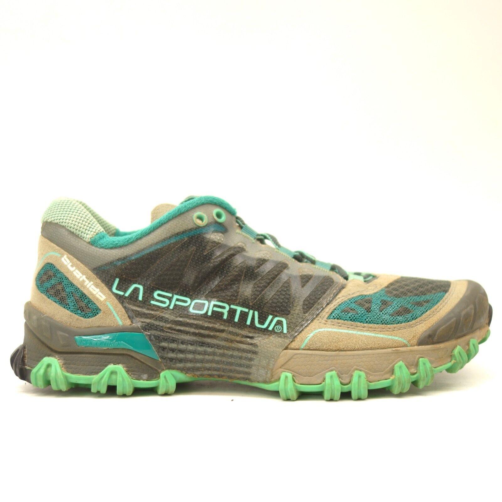 La Sportiva Mujer Bushido Trail Running Zapatos Atléticos Al Aire Libre gris de EE. UU.