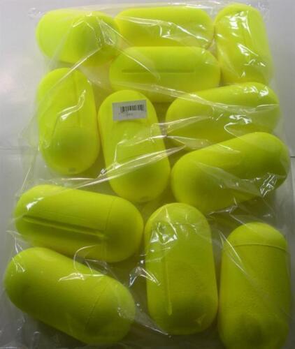 """FFS-Y 6/"""" Yellow Styrofoam Marker Float Buoy Bag of 12 19555"""