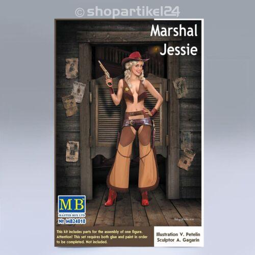 1:24 MB24018 PIN-UP Serie Marshal Jessie MASTER BOX 24018