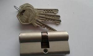 GEGE-pExtra-6-Pin-High-Security-Euro-Cylinder-Lock-With-4-Keys