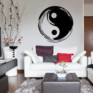 Wandtattoo Schlafzimmer Wohnzimmer Yin Yang Zeichen A237 Ebay
