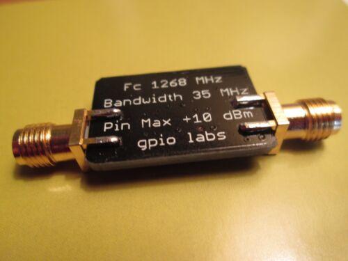 1268 MHz Bandpass Filter Band Pass; 35 MHz Bandwidth