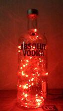 ABSOLUTE VODKA LIGHT UP BOTTLE LAMP