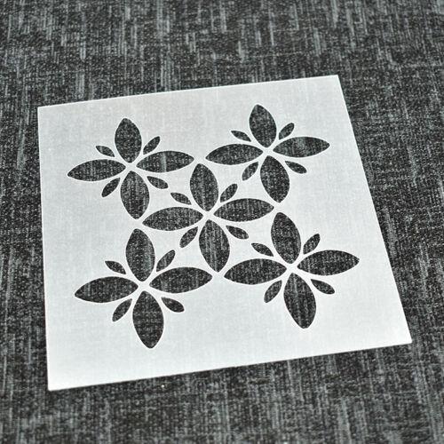 Plantilla Reutilizable para suelos paredes Decoraciones azulejos