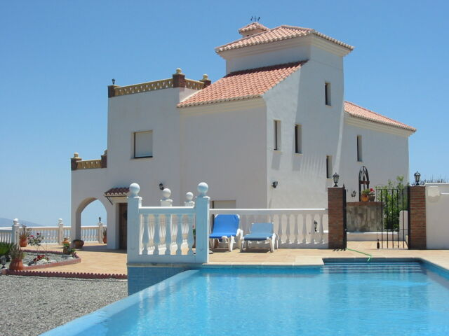 Luxury Secluded Holiday Villa Spain With Private Infinity Pool 4 Bed Sleeps 8