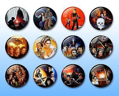 Star Wars Legends Books 38mm badges & Fridge Magnet collection vol.1 EU Thrawn