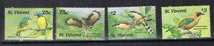St. Vincent Grenadinen MiNr. 1226-29 postfrisch MNH Vögel (Vög2326