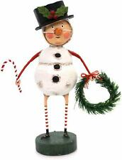 """Lori Mitchell JOLLY HOLLY Whimsical Christmas Figurine 6.5/"""" Tall by ESC"""