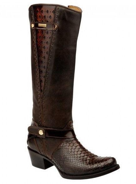 2F13PH Python Equestrian Fashion Boots by by by Cuadra 1123b7