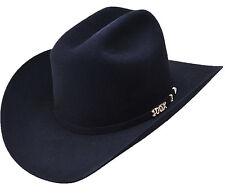 cc3dca741c872 item 6 Men s Serratelli 100X Beaver Felt Comandant Western Cowboy Hat Black  Made in USA -Men s Serratelli 100X Beaver Felt Comandant Western Cowboy Hat  ...