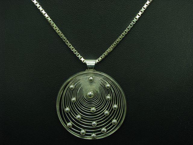 925 Sterling silver Kette & Anhänger   Echtsilver   50,0cm   15,0g