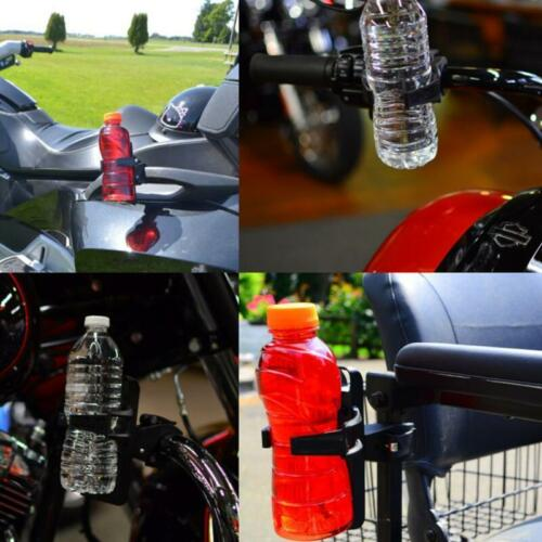 Moto Handlebar Mount Clamp Cup Holder Beverage Water Bottle Universal F Kawasaki