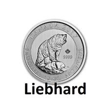 50$ Silber / Silver Kanada / Canada Grizzly 10 OZ 2017