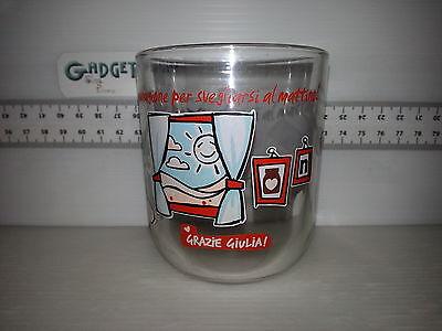 NUTELLA Glas Glazer Verre Bicchiere (nutellaglass 01.1.6.017) Grazie Giulia