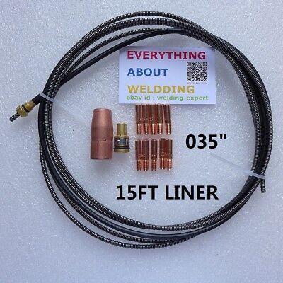 "8ft Liner .023/"" .035/"" Campbell Hausfeld WC600208AV Metal Liner Wire"