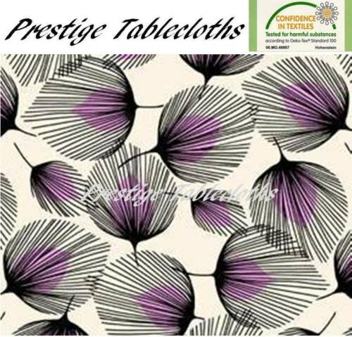 ALL SIZES F726-2 Code Whisper Feather PVC Vinyl Wipe Clean Tablecloth