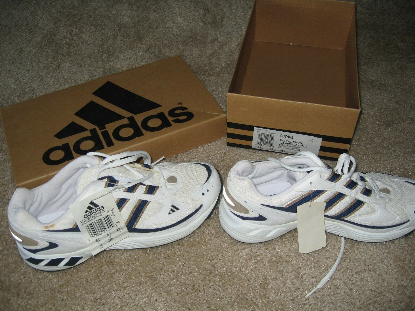 neue herren 1 - paar adidas wolfpack 1 herren ca laufschuhe größe 9 abgesetzt a45da5