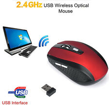 MINI Wireless Gaming Mouse USB 2000DPI Optical Mice Mouse For PC Laptop Desktop