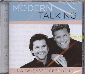 MODERN-TALKING-NAJWIEKSZE-PRZEBOJE-CD-POLISH-EDITION-sealed-sony-Poland