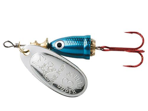 Blue Fox Vibrax Shad 6g #2 VMC Hook Spinner Vielen Farben