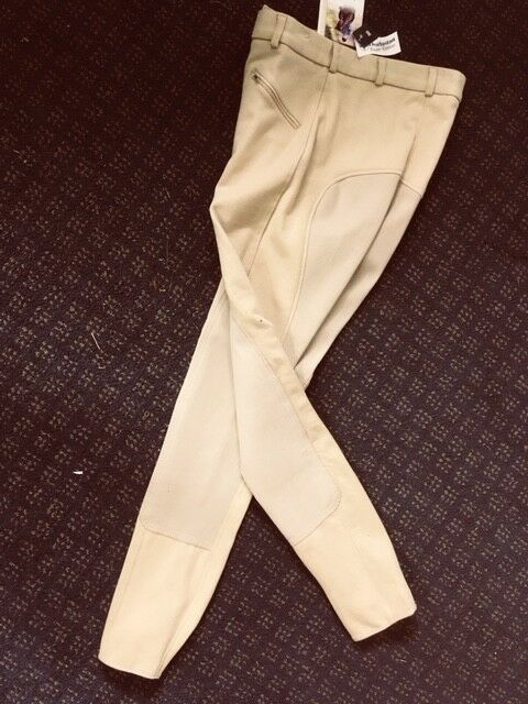 SIGMA  Men's Fullseat BREECHES Size 30 and 34 Tan NEW