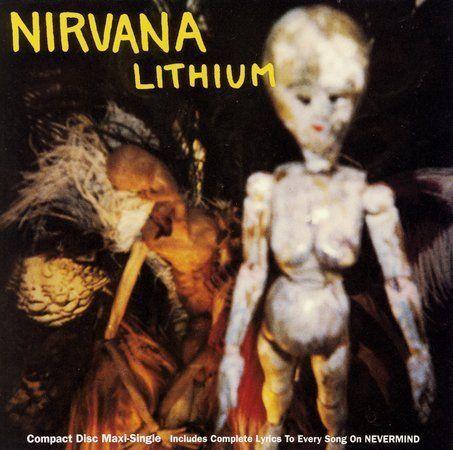 Lithium Single By Nirvana Us Cd Jul 1992 Dgc Ebay