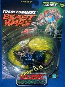 Transformers-Beast-Wars-Transmetals-Special-Edition-RATTRAP-New-Factory-Sealed