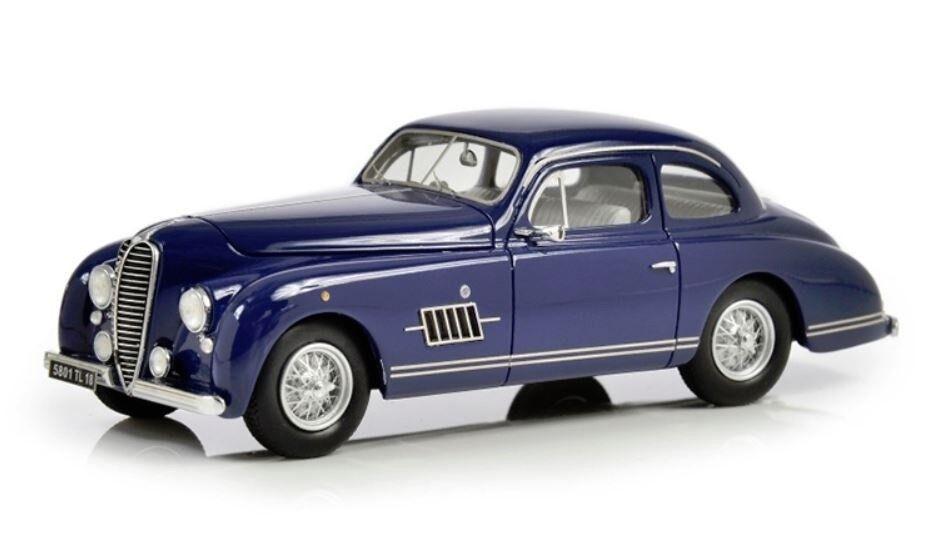 1949-1950 DELAHAYE 135 M Coupe par GUILLORE 1 43 Résine coulée par Esval Models Bleu