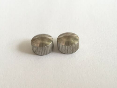 #302 PAIR CAMPAGNOLO #302//1 NICKLE-PLATED NUT FOR DROPOUT ADJUSTING SCREW