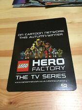 Lego Hero Factory Tv Series Cartoon Network Doorhanger