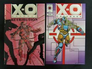 X-O Manowar TPB 1993 Retribution +Database Sealed NM to Mint T105