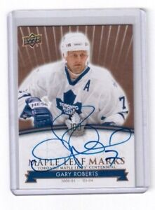 2017-Toronto-Maple-Leafs-Centennial-card-MLM-GR-Gary-Roberts