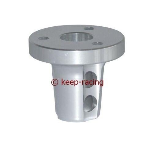 Lenkradaufnahme für Kart Lenkrad Aluminum CNC silber