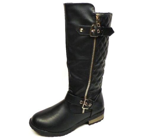 2 3 4 1 Girls/' Fashion Dress Riding Boots size 9 13 11 12 10