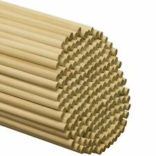 "Wooden Dowel Rods 3/8"" x 36"" - Bag of 25"
