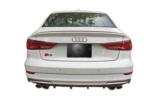 Audi rear license plate bracket