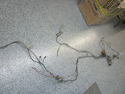 1965 AMC MARLIN WIRING HARNESS AND ENGINE LIGHT FUSE BOX ...